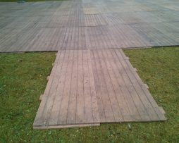 Vloeren - tapijt - podium